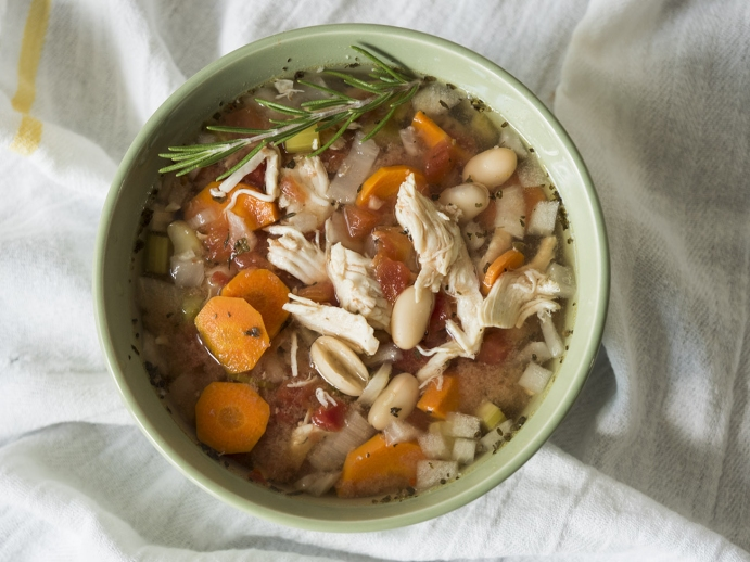 3) Mutfaktan yine nefis kokular geliyor: Sebzeli, Buğdaylı Tavuk